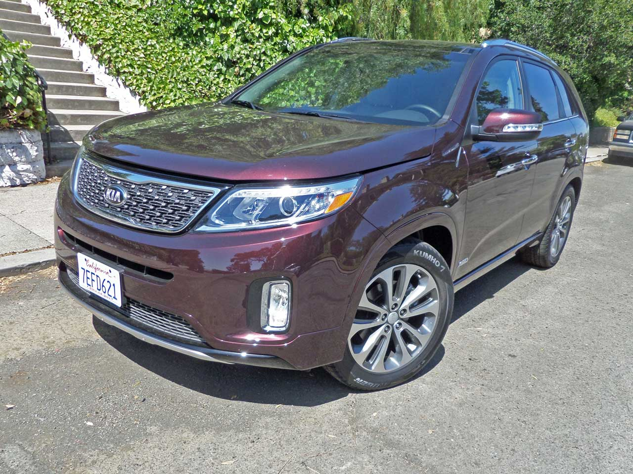 2015 kia sorento sx v6 awd test drive our auto expert. Black Bedroom Furniture Sets. Home Design Ideas