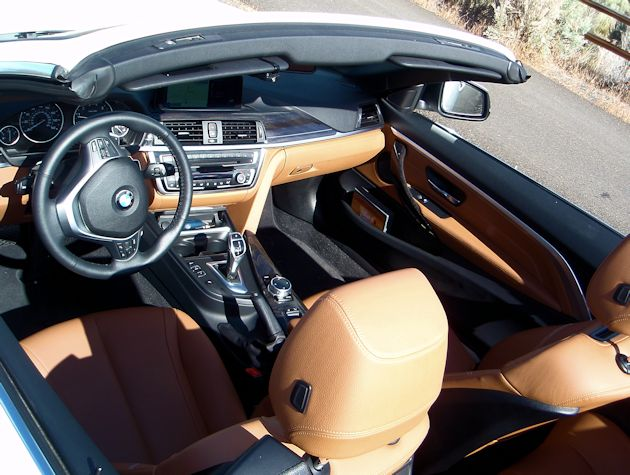 2014 BMW 435i Convertible interior