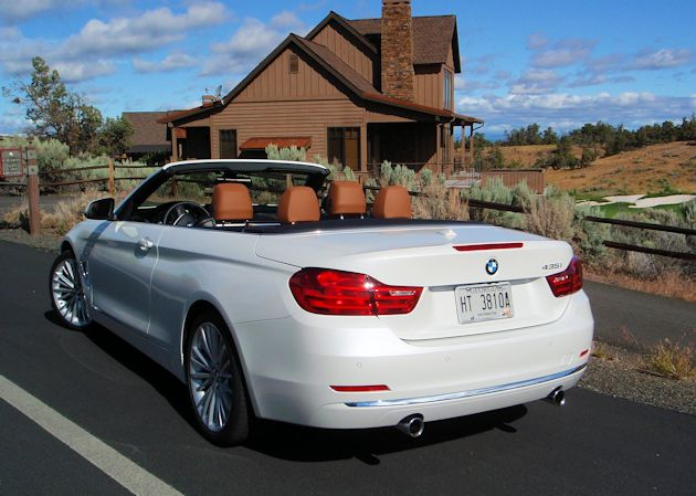 2014 BMW 435i Convertible rear