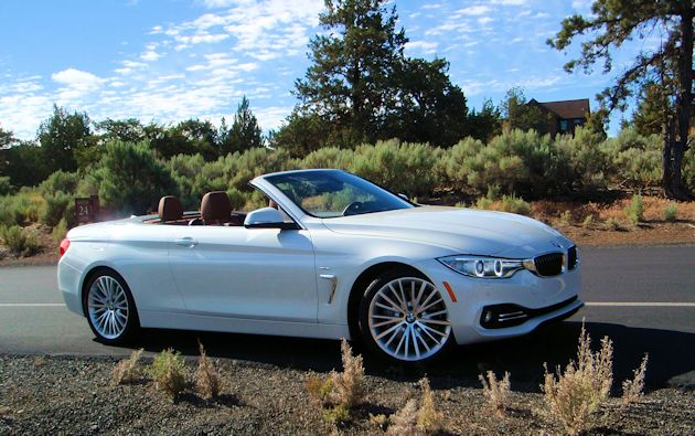 2014 BMW 435i Convertible side