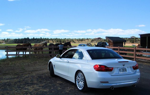 2014 BMW 435i top up rear 2