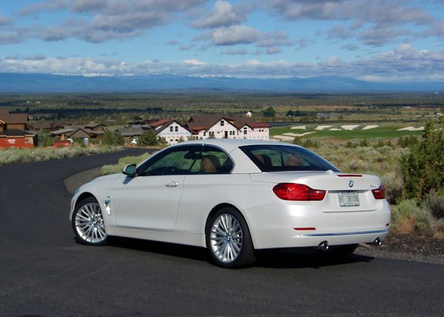 2014 BMW 435i top up rear