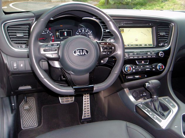 2014 Kia Optima dash