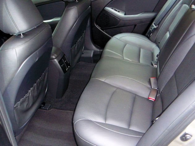2014 Kia Optima rear seat