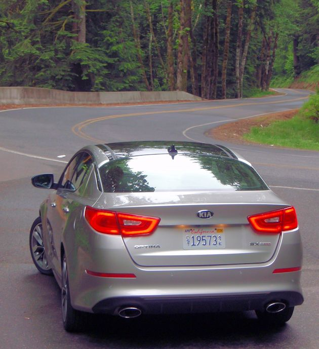 2014 Kia Optima rear
