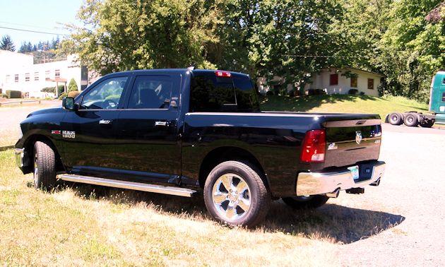 2014 Ram 1500 rear