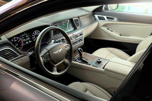 2015 Hyundai Genesis interior 2
