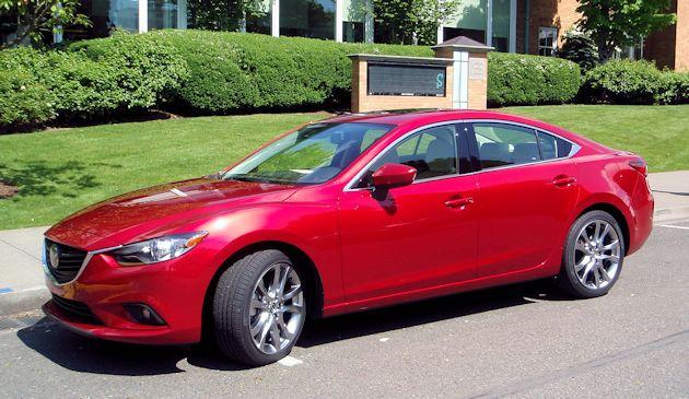 2015 Mazda6 front q