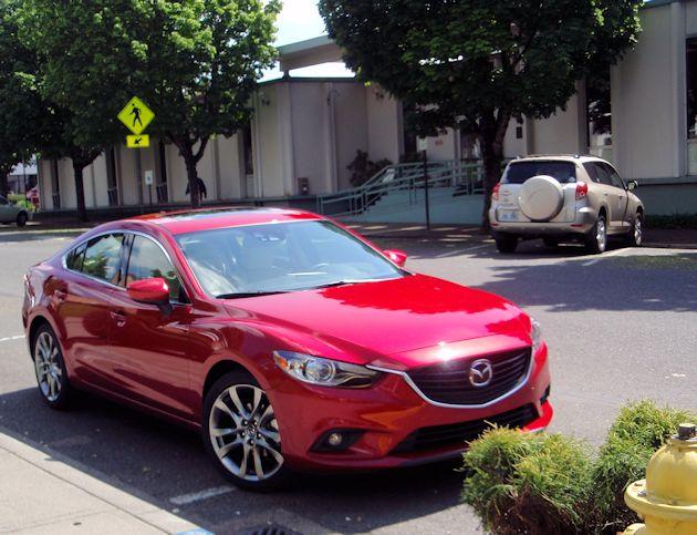 2015 Mazda6 front