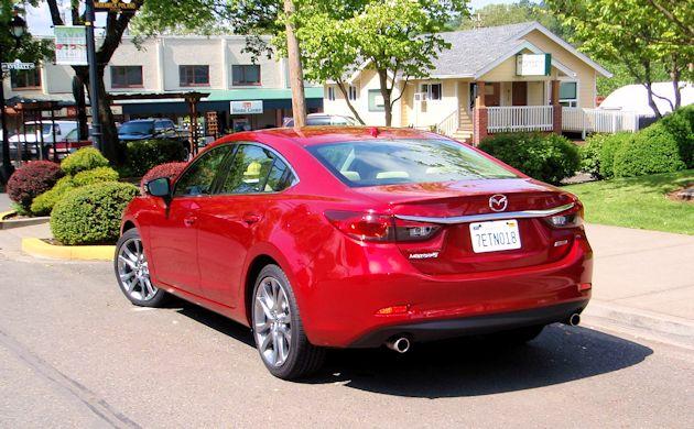 2015 Mazda6 rear