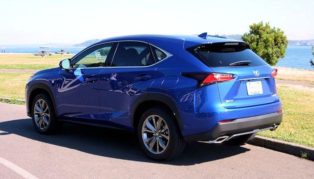 20152679 Lexus NX rear Q