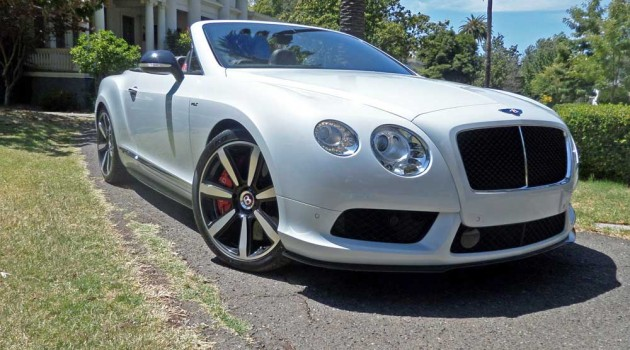 2014 Bentley Continental GT V8 S Convertible Test Drive