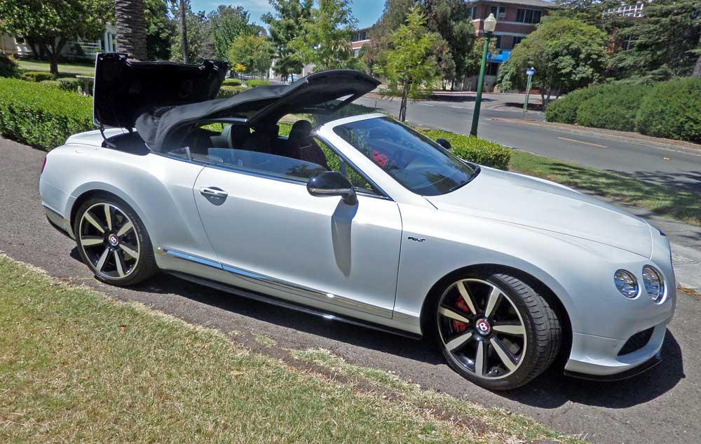 2014 Bentley Continental Gt V8 S Convertible Test Drive Our Auto