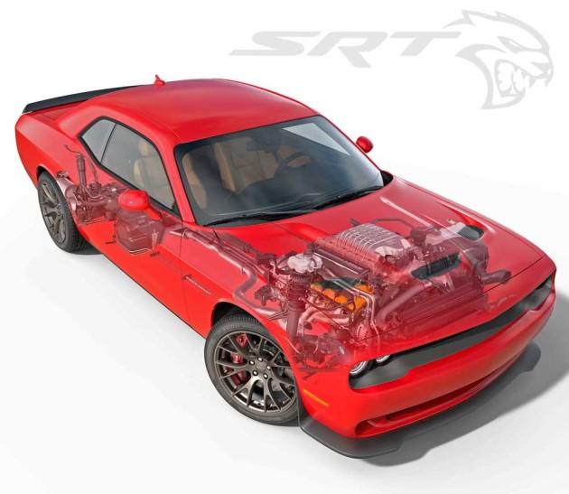 Dodge-Challenger-Hellcat-Cutaway