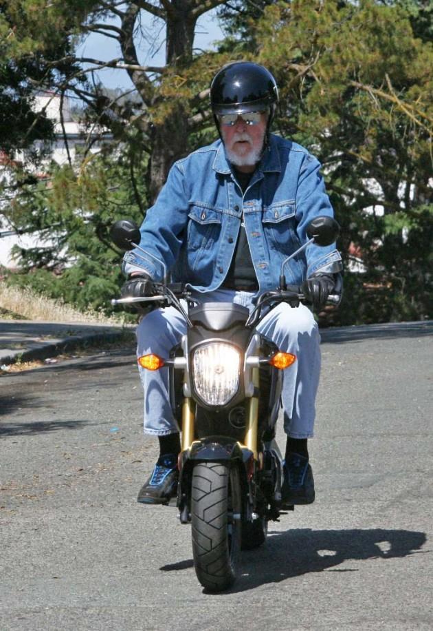 Honda Grom Rider