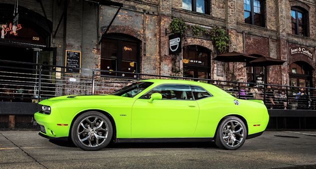 2014 Dodge Challenger side