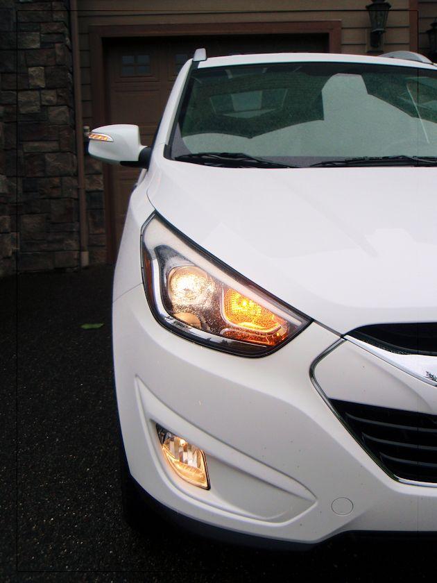 2014 Hyundai Tucson profile