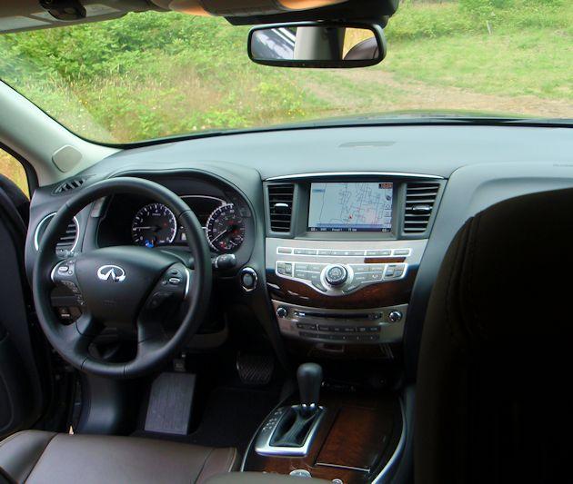 2014 Infiniti QX60 Hybrid dash