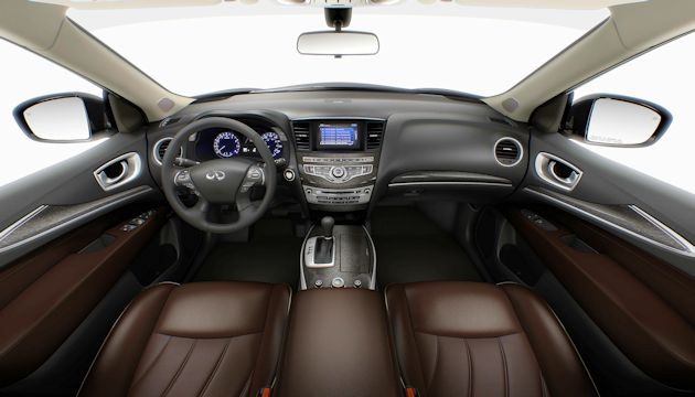 2014 Infiniti QX60 Hybrid interior