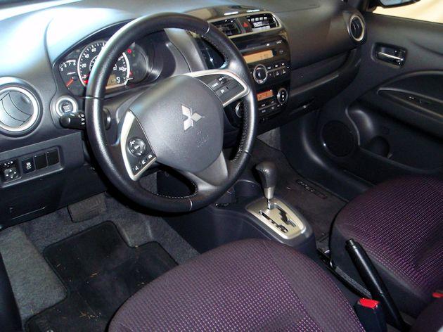 2014 Mitsubishi Mirage dash
