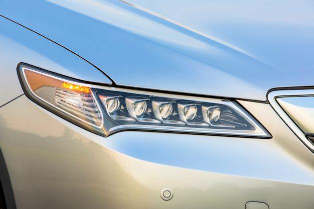 2015 Acrua TLX headlight