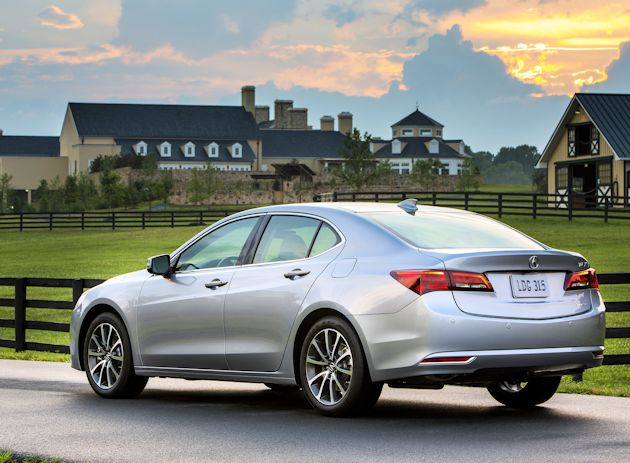 2015 acura tlx first drive our auto expert. Black Bedroom Furniture Sets. Home Design Ideas