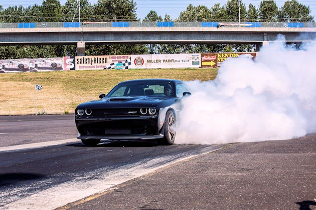 2015 Dodge Challenger drag