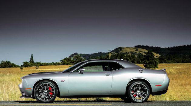 2015 Dodge Challenger side 2