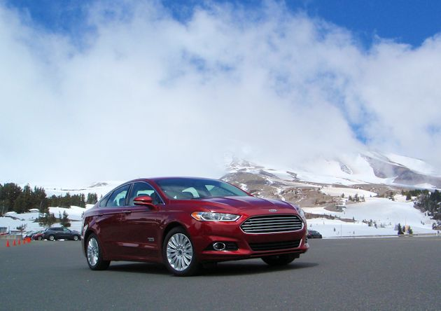 Ford Fusion Energi Test Drive
