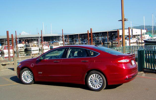 2015 Ford Fusion Energi side