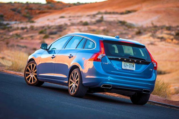 2015 Volvo V60 rear