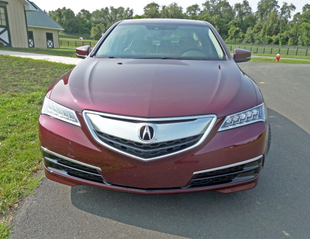 Acura-TLX-Nose