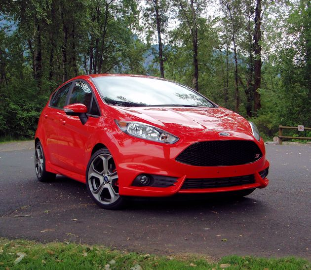 2014 Ford Fiest ST front