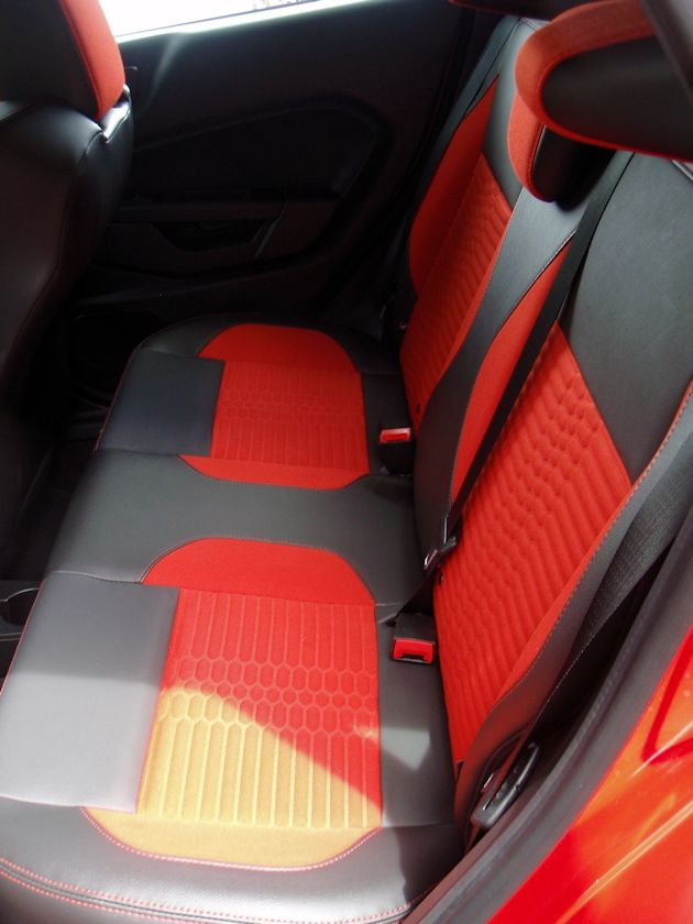 2014 Ford Fiest ST rear seat