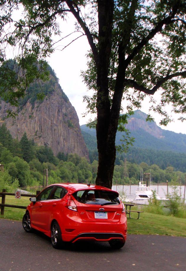 2014 Ford Fiest ST rear