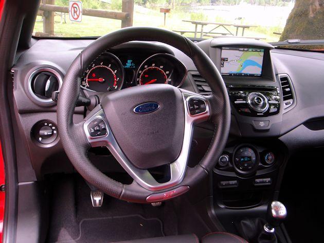 2014 Ford Fiesta ST dash