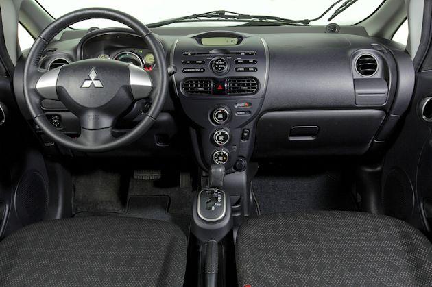 2014 Mitsubishi i-MiEV dash