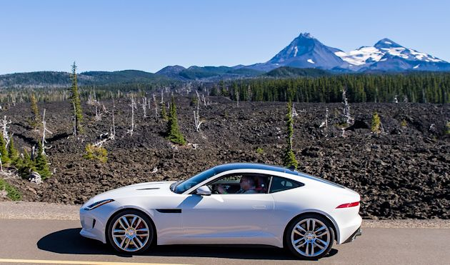 2014 Run to the Sun Part 2 Jaguar F-Type