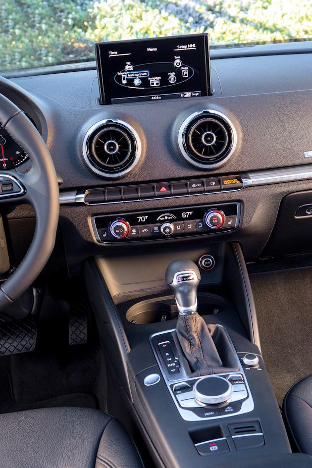 2015 Audi A3 center console