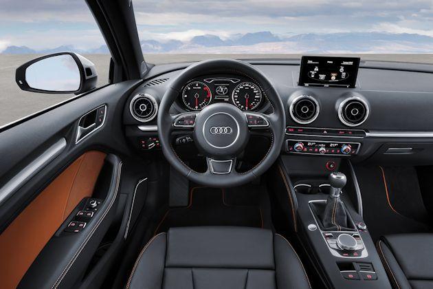 2015 Audi A3 dash