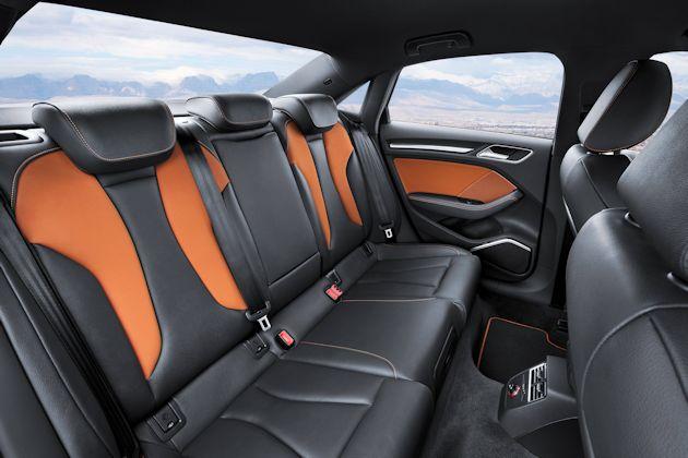 2015 Audi A3 rear seat
