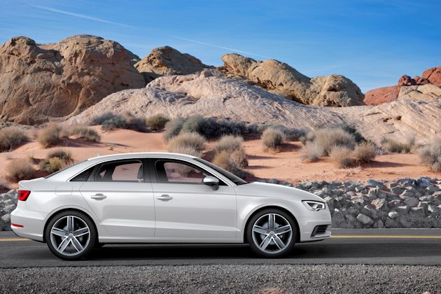 2015 Audi A3 side 2
