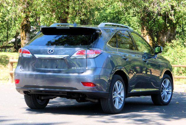 2015 Lexus RX 450 h rear