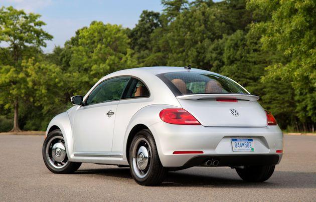2015 VW Beetle rear