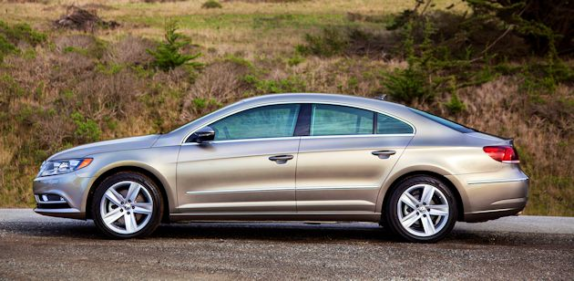 2015 VW CC side