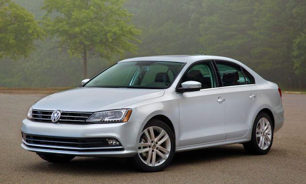 2015 VW Jetta front