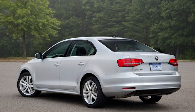 2015 VW Jetta rear