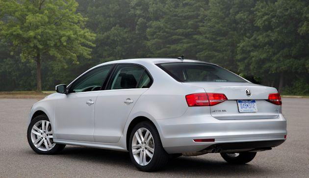 2015 VW Jetta rear