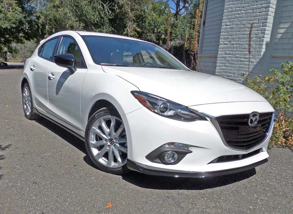 2015 mazda3 s grand touring five door test drive our auto expert. Black Bedroom Furniture Sets. Home Design Ideas