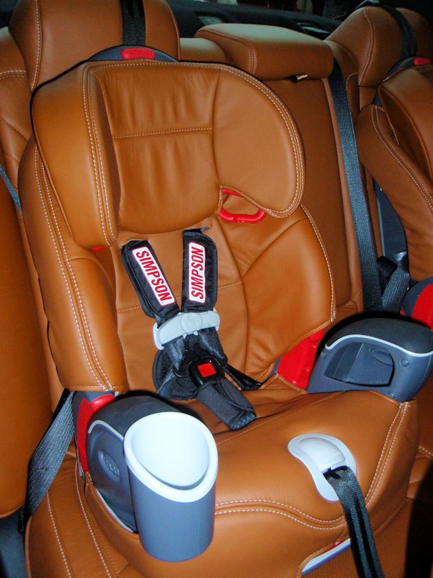 2015 Dodge Charger child safety seat